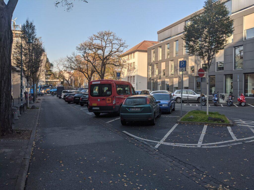 Pali Parkplatz in Darmstadt